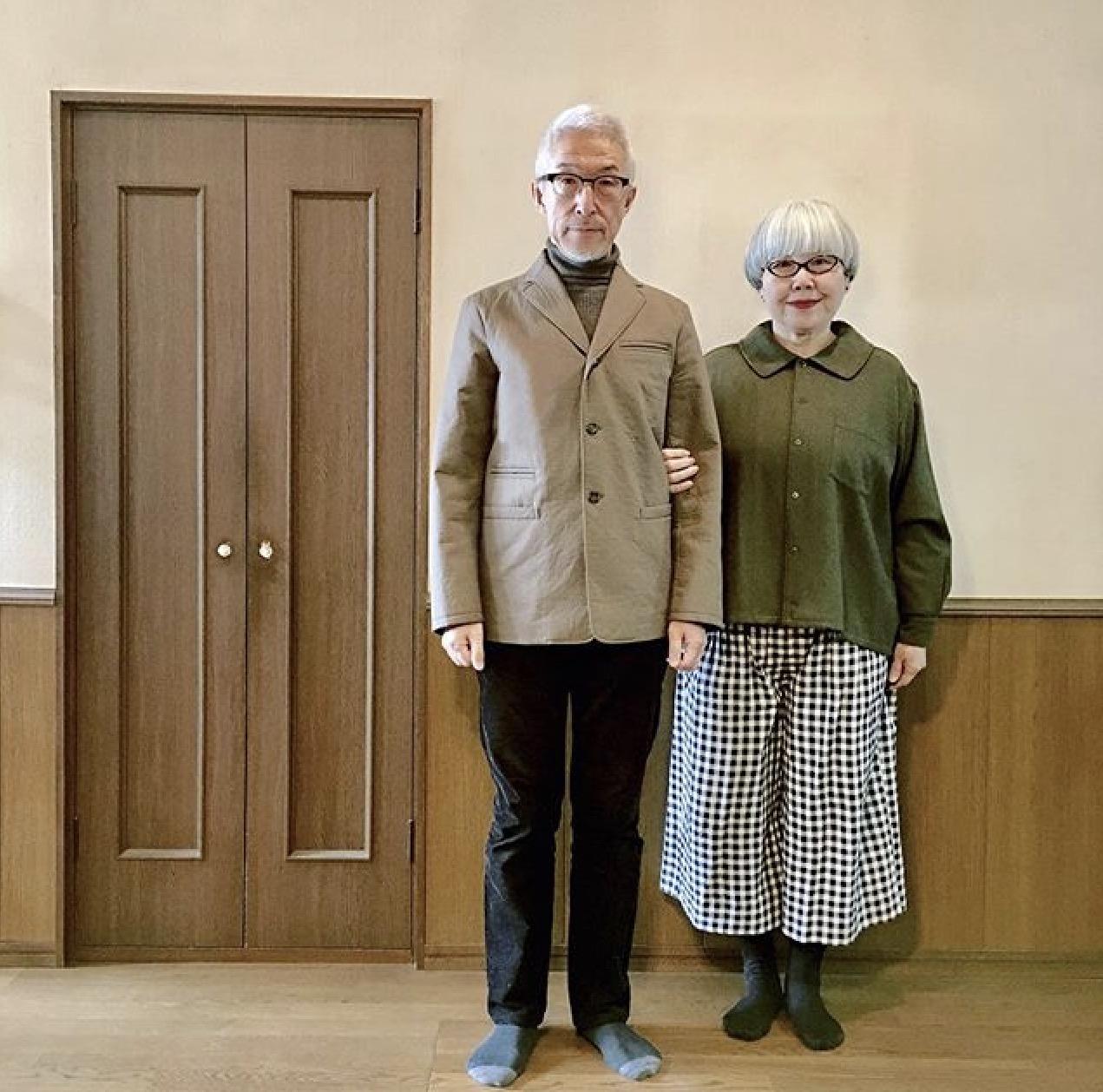 Japan,Ehepaar,Partnerlook