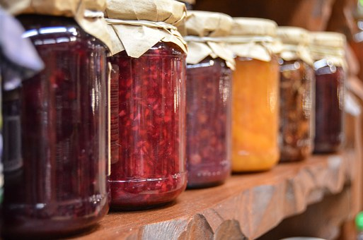 Marmelade,Gelees,Konfitüre, einkochen