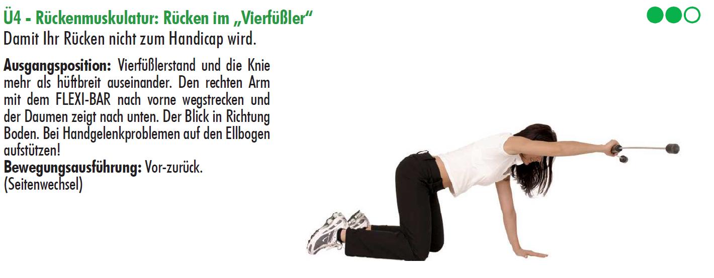 flexibar,Rückenübungen