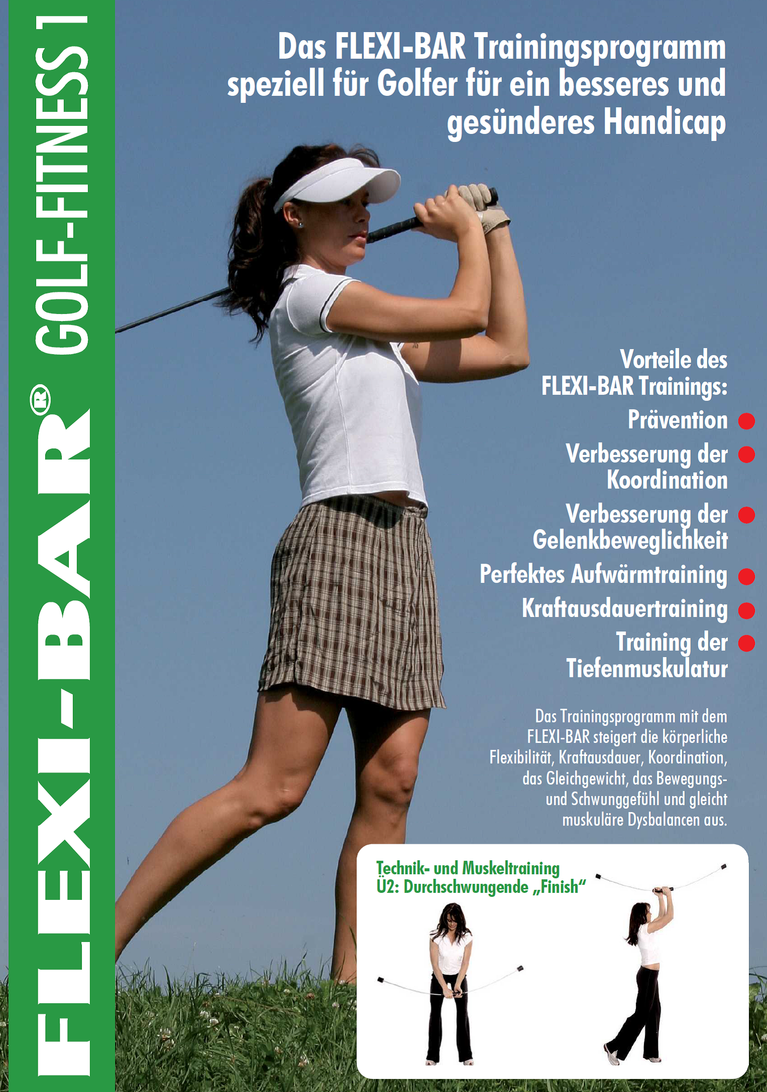 Golftrainingsplan,Flexi bar;Fitness