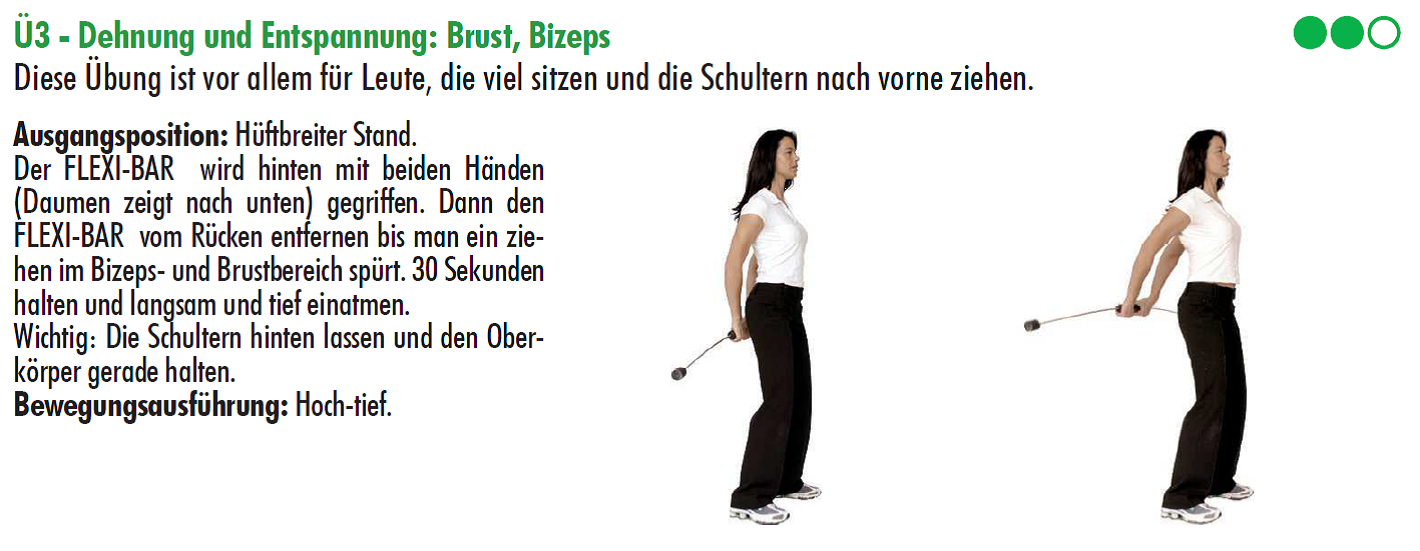 Flexibar,Dehnungsuebung.Trainingsplan,golf