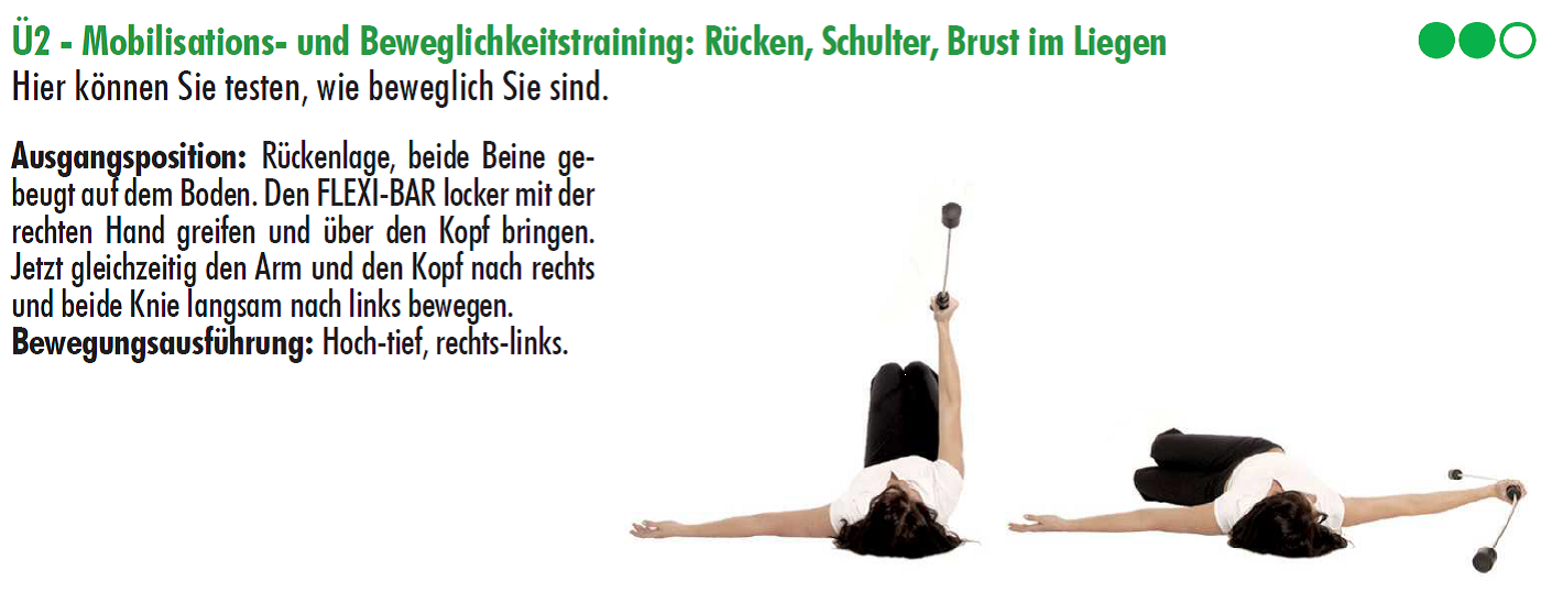 Flexibar,trainingsplan