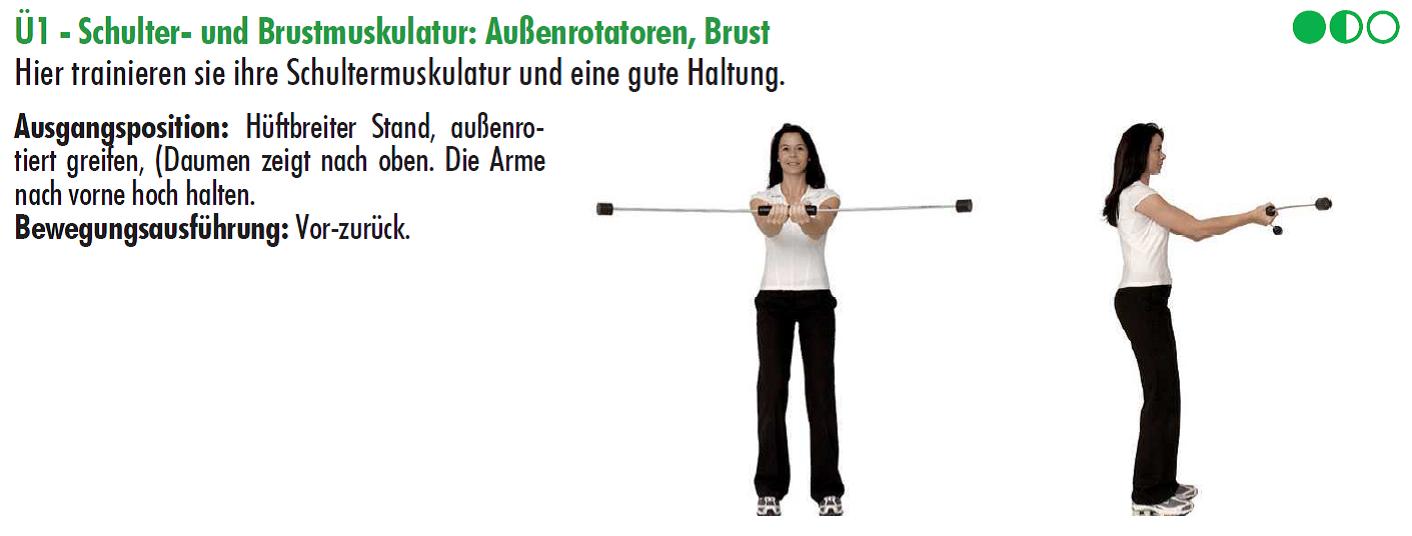 schultertraining,flexibar,golftraining