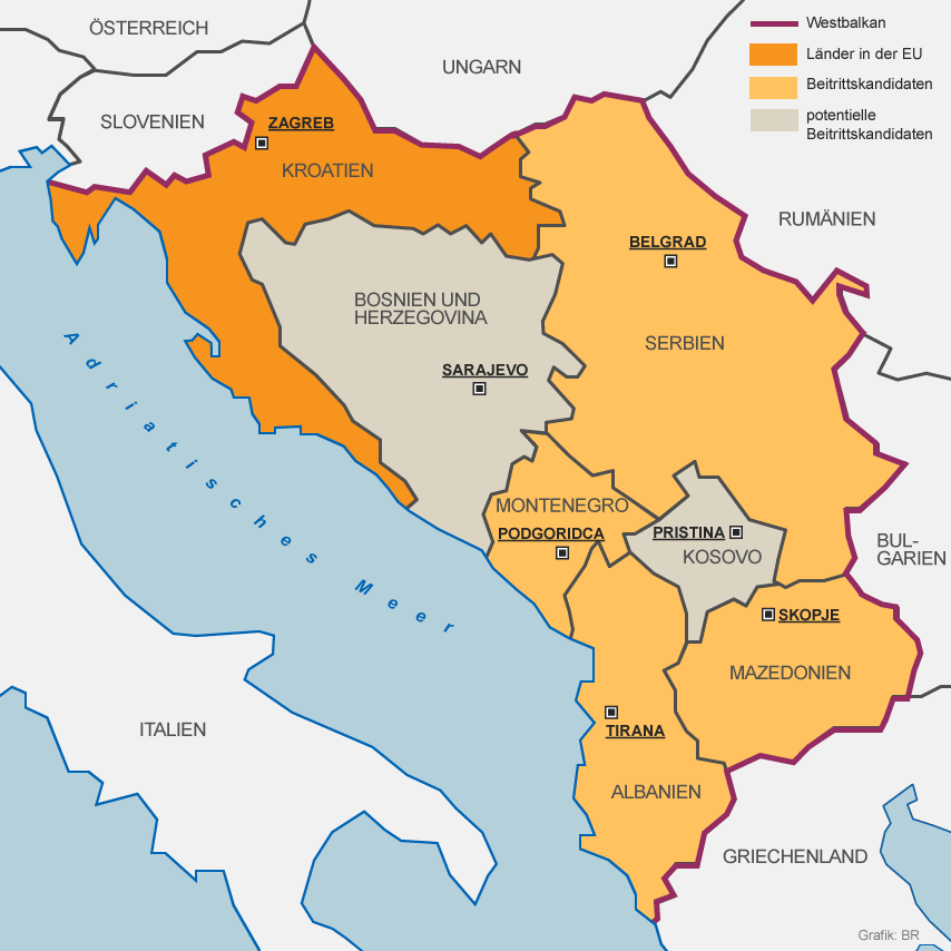 Regionen,Europa