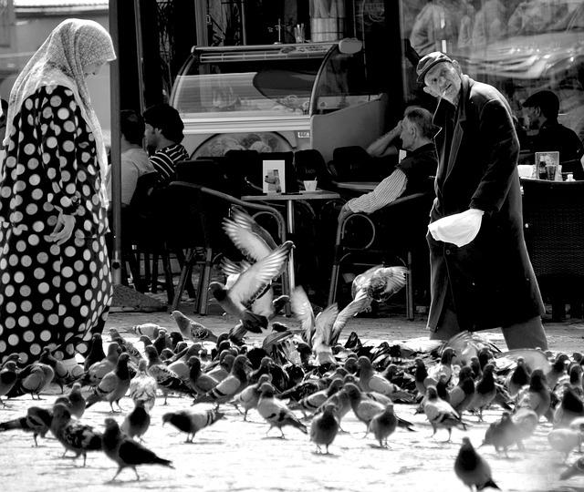 Tauben,Platz,Menschen