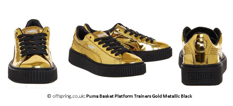 Schuhe,Gold,Puma