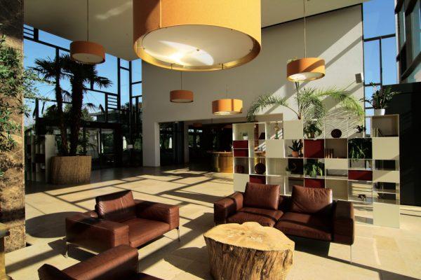 Lobby,Ledermöbel,Interior