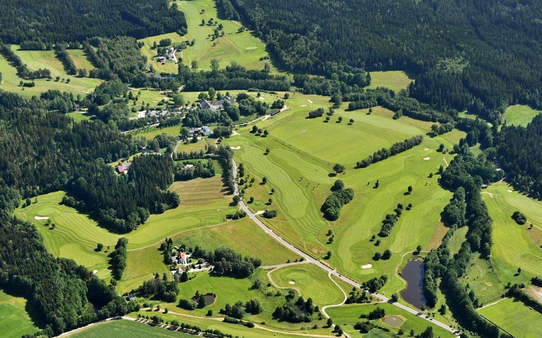 Landschaft,Golfplatz