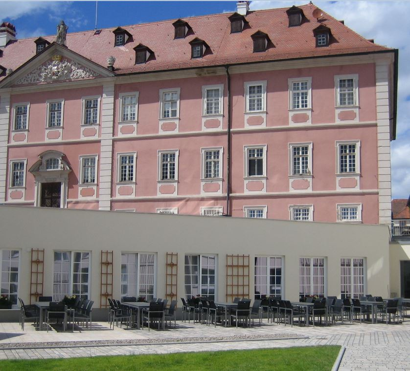 Hotel,Scjloss,rosa