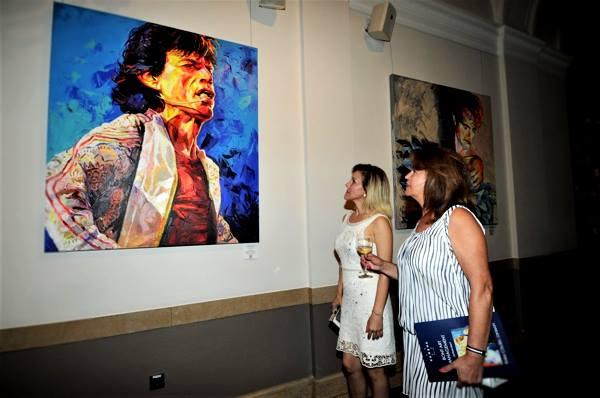 Mick Jagger,Kunst,Frauen,betrachten