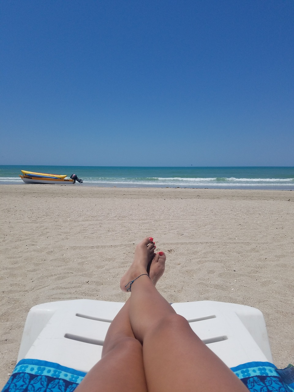 sonnen am strand