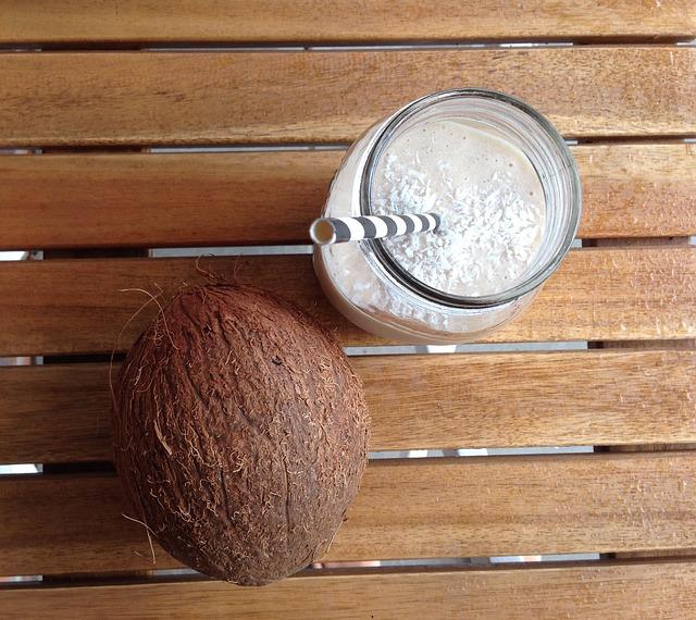 kokosnuss smoothie