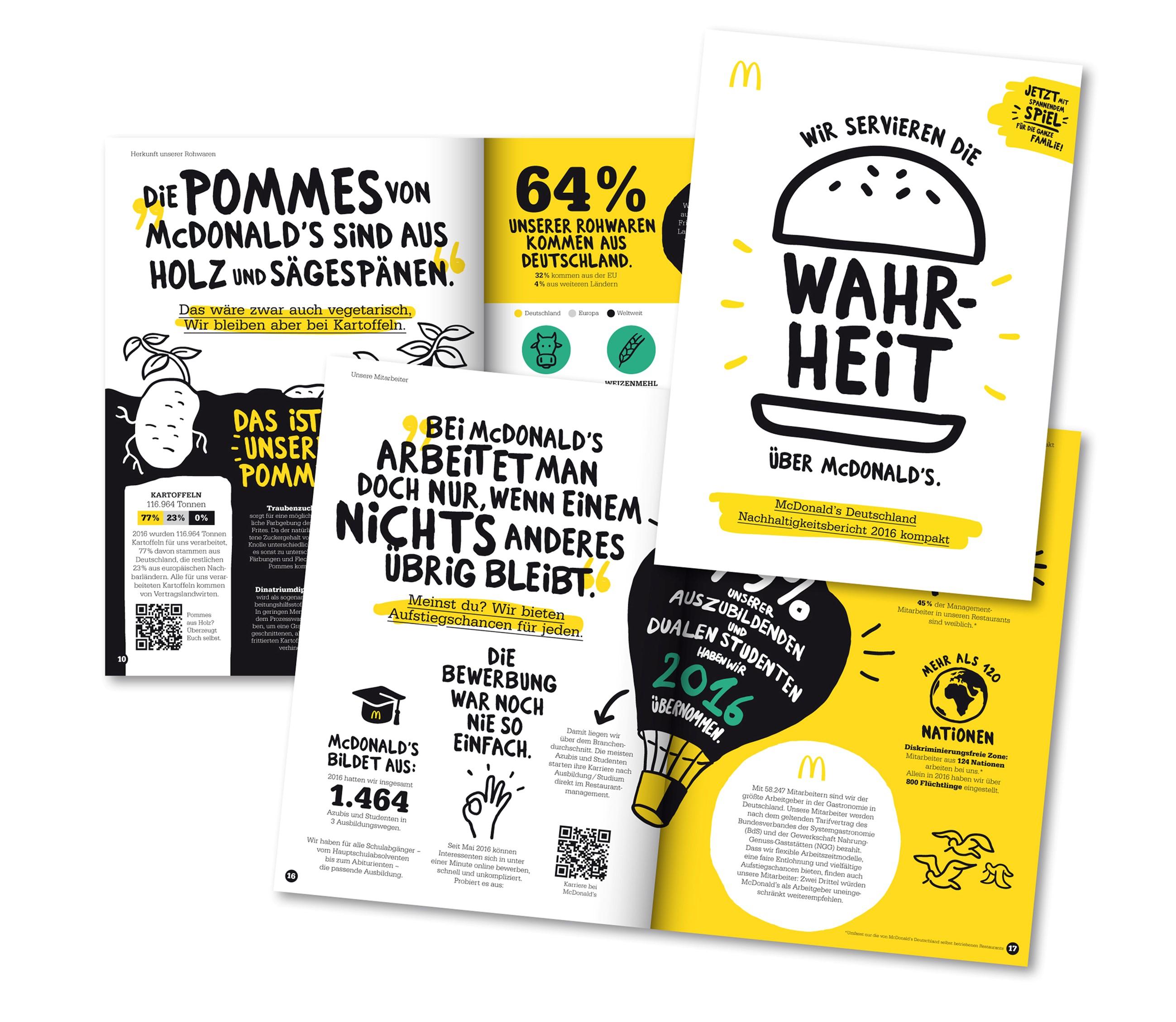 McDonald's Deutschland serviert die Wahrheit im neuen Nachhaltigkeitsbericht – Porzellan und Glas ab sofort auch am McDonald's-Tresen in den Restaurants der Zukunft