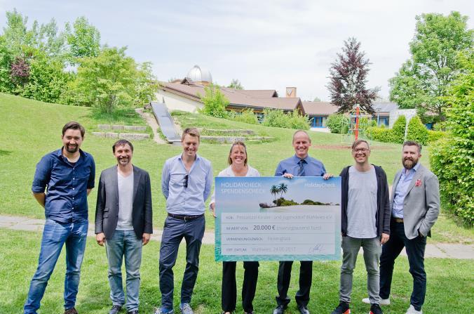 HolidayCheck schenkt Ferienglück: 20.000 Euro für das Pestalozzi Kinderdorf