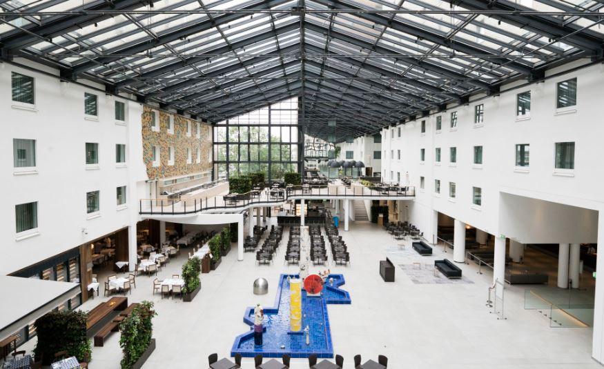 hotel, lobby