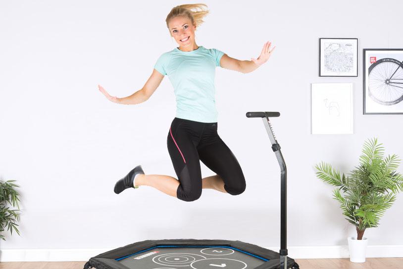 Trampolinspringen – der neue Fitness-Trend!