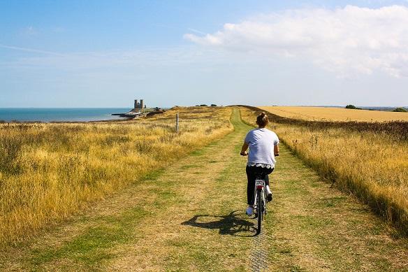 Per Pedal unterwegs von den Römern bis zu den Finnen