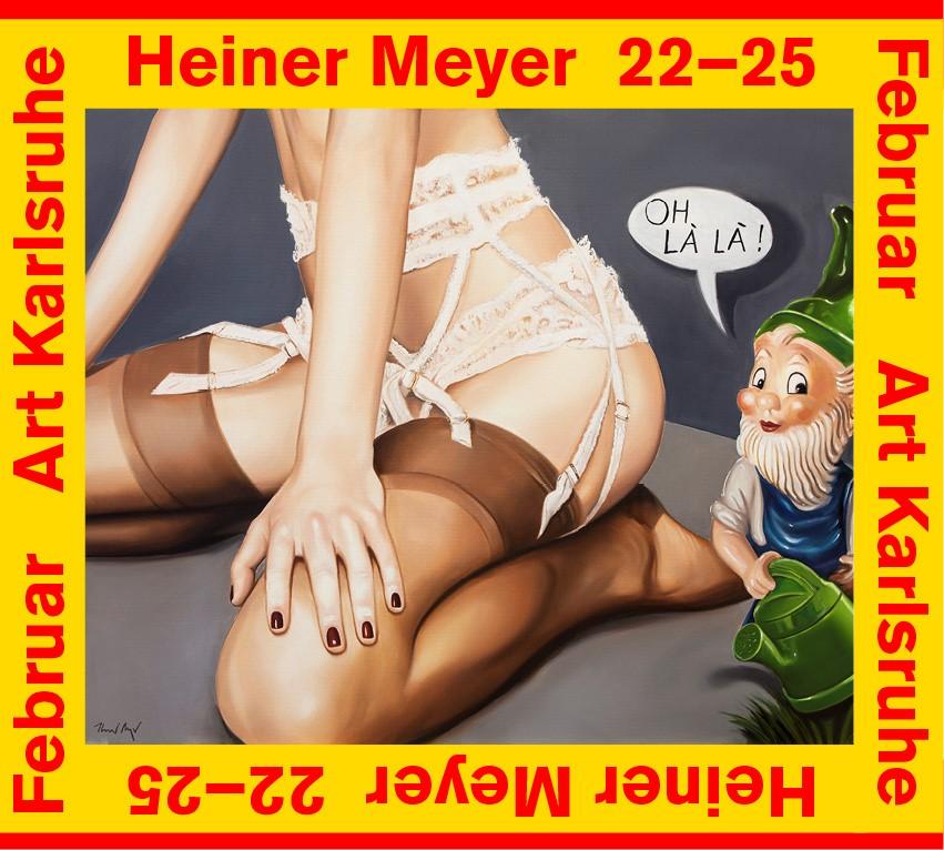 LiCard Userinnen Meets Heiner Meyer,Art Karlsruhe