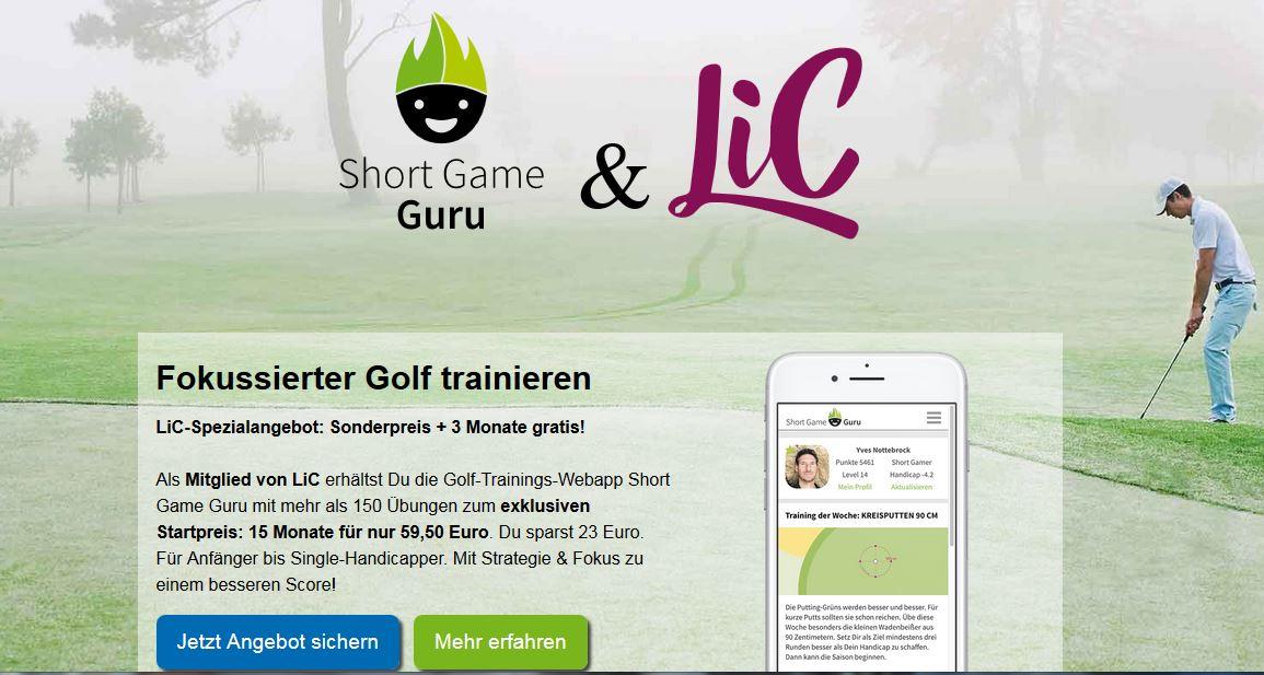 LiC Special: Short Game Guru