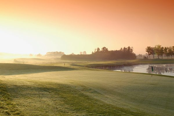 Golfanlage Schloss LüdersburgOktober 2005